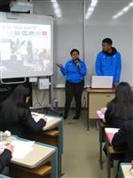 パラオの研修生ら高校生と交流 ペリリュー島と茨城の深いつながり