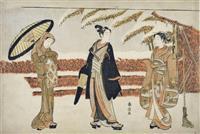 川崎浮世絵ギャラリー「日本の宝 浮世絵名品展-墨摺絵から錦絵誕生まで-」