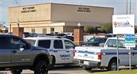 教会内で発砲、1人死亡 米テキサス、日曜礼拝中