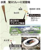 【独自】聖火リレー水素燃料で 最終走者トーチ 浪江産検討