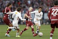 ヴィッセル神戸、新時代告げる天皇杯初優勝 落ち着いてリード守り切る