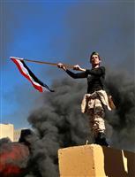 トランプ氏、米大使館襲撃で「イランに責任負わせる」 イラクに海兵隊員派遣