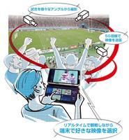 お気に入りの選手だけ見たい 五輪に向けた観戦革命 NTTドコモの5G