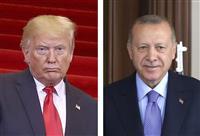 トランプ氏、トルコ大統領にリビア派兵で自制求める