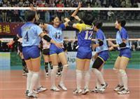 男子の駿台学園がストレート勝ち 女子は大阪国際滝井が1回戦突破 春高バレー速報(6)