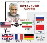 イラン「国際法違反だ」と反発 米は52カ所を攻撃目標に設定