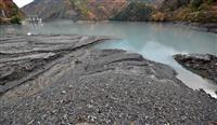 ダムの堆砂、東京ドーム5個分撤去 計画に山梨、静岡知事なお不満