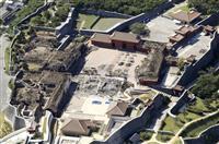 首里城「見せながら再建」 復興過程を観光資源に