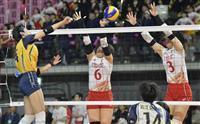 女子の古川学園がストレート勝ち 男子は鎮西が3回戦進出 春高バレー速報(2)