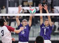 女子の東九州龍谷がストレート勝ち 男子は大村工が2回戦突破 春高バレー速報(6)