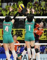 【春高バレー】男子・東福岡、薄氷の勝利 女子・誠英、強豪下し3回戦へ