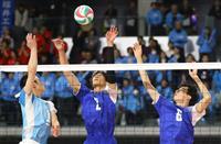 松本国際が準々決勝進出 女子は共栄学園がフルセット勝利 春高バレー速報(1)