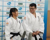東京パラ、夫婦でメダルを 視覚障害者柔道・広瀬悠さん、順子さん夫妻