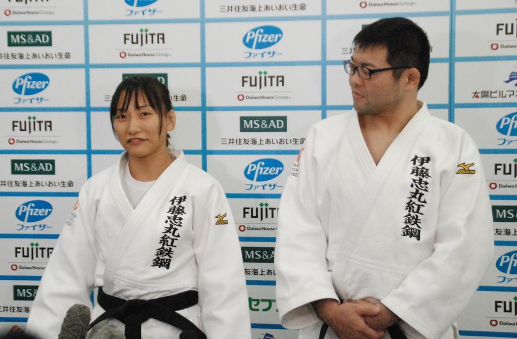 東京パラリンピックで夫婦そろっての出場とメダル獲得を目指す広瀬悠さん(右)と順子さん=昨年12月、東京都内