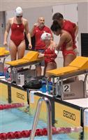 カナダのパラ競泳チーム、練習スタート 和歌山市で合宿