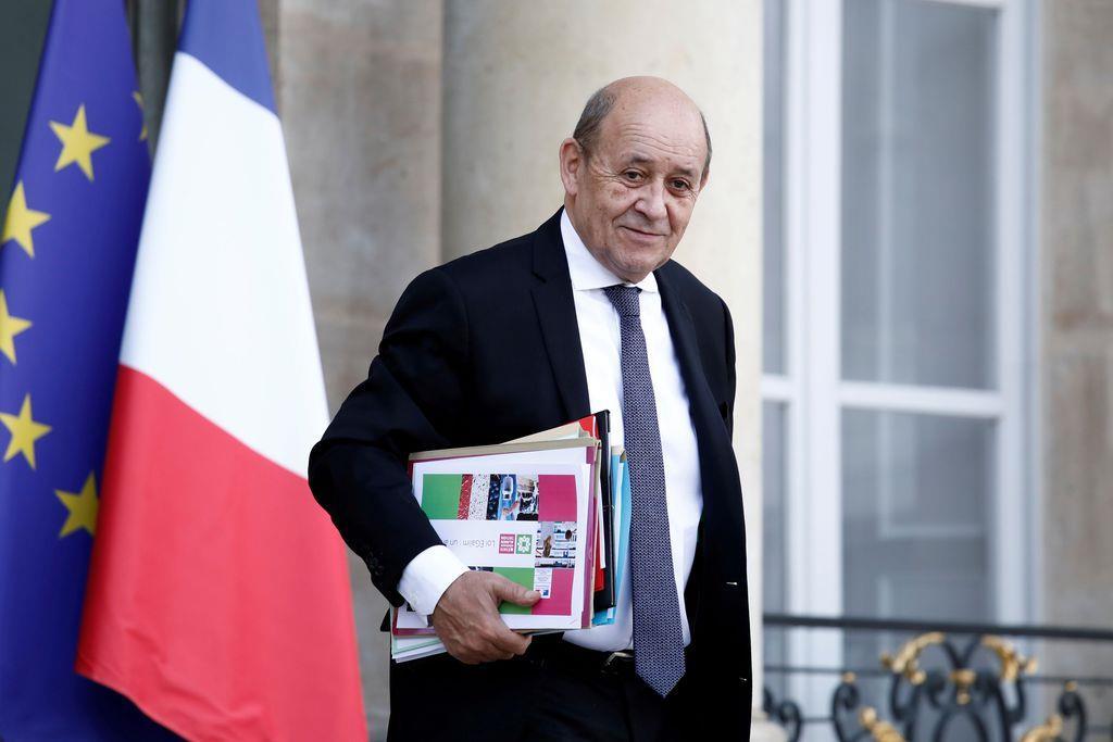 フランスのルドリアン外相(ロイター)