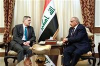 イラク、米大使に駐留軍撤収へ協力求める 米は重要性主張へ