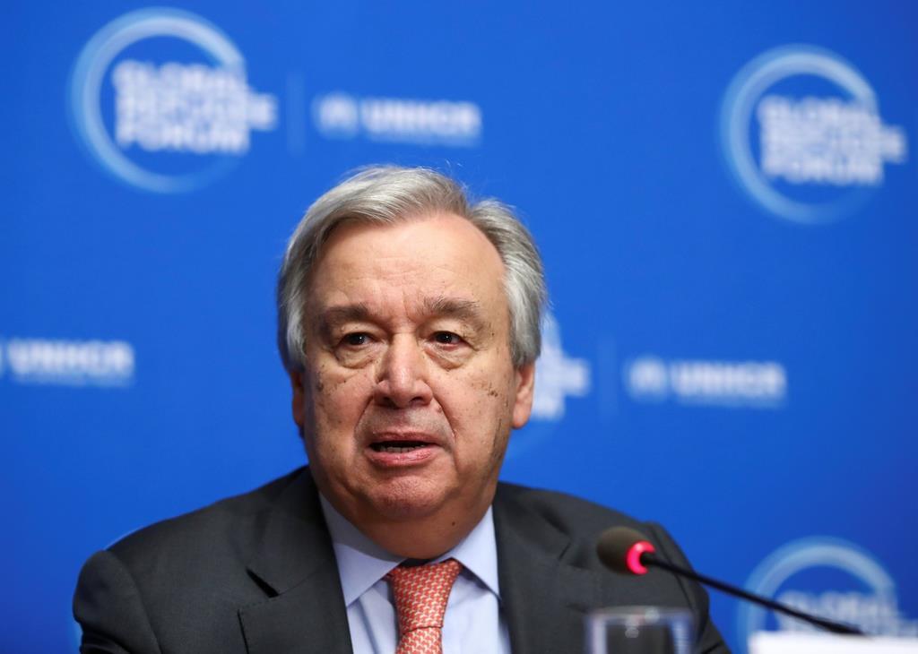 国連のグテレス事務総長(ロイター)
