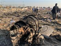 ウクライナ機がイランで墜落 180人搭乗