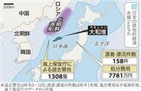 【動画あり】「大和堆」取り締まり 北朝鮮漁船への退去警告1300件超 投石10件も