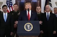 トランプ大統領、イランに追加制裁を表明 「軍事力を用いたくない」