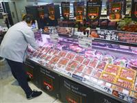 イオン、米牛肉1割値下げ 貿易協定発効で