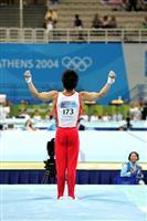 【勇気の系譜】冨田洋之さん(上) 重圧の中 体操王国復活かけ演技