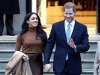 英ヘンリー王子、王室と距離の意向 継承順位6位、取材嫌気か