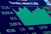 NY株、最高値更新 中東懸念和らぎ211ドル高
