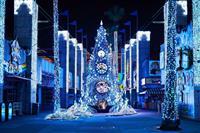 幻想イルミ、インスタ聖夜…ひらかたパーク土日祝プレミア「光の遊園地」人気