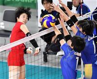 女子の東九州龍谷が決勝へ 金蘭会の3連覇阻む 春高バレー速報(1)