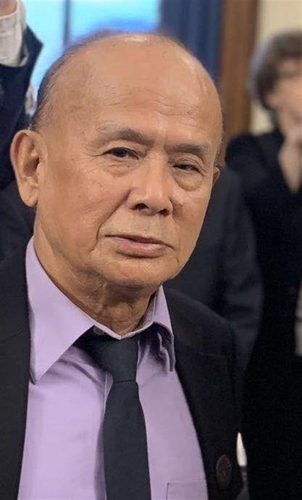 民主化活動家の薛偉さん