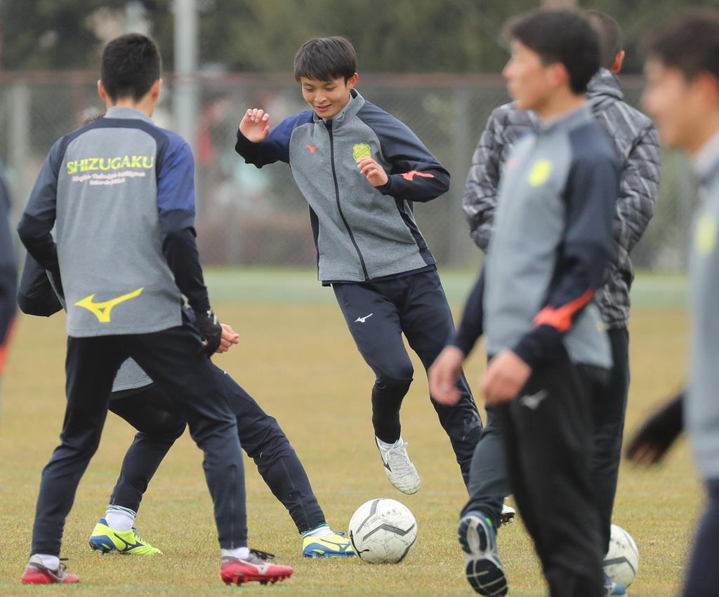 速報 サッカー 静岡 学園