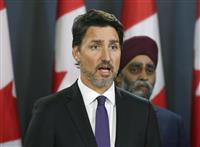 57人犠牲のカナダ首相「完全調査を」 イラン大統領に求める