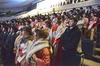 横浜は3万7000人が成人 会場で爆竹音、トラブルも