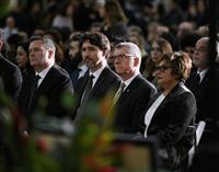 旅客機撃墜、カナダで追悼 首相「正義追求する」
