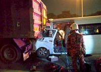 バド桃田選手が全身打撲 マレーシアで交通事故に遭う 運転手死亡