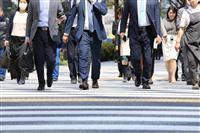 街角景気、2カ月連続改善 昨年12月、消費増税の影響に和らぎ