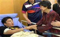 桃田選手「競技影響なし」1カ月で練習可能と医師