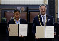 プラハ市、台北市と友好協定 北京市とは昨年10月に解消