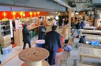 大阪の川に浮かぶ複合施設 「タグボート大正」飲食エリア18日開業