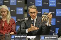 「中国、世界の人権攻撃」HRW代表が批判