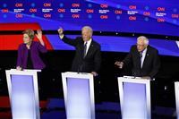【米大統領選】アイオワ州で民主党が討論会 指名争い本番に向け舌戦