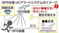 GPS空港接近でアラート 保釈中逃走対策 法務省検討へ