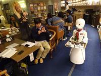 分身ロボット「オリヒメ」、渋谷のカフェWIREDで接客