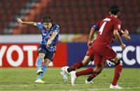 日本、カタールと引き分け 小川が先制もPKで失点 サッカーU-23アジア選手権