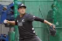 巨人・菅野、五輪見据えつつ「まずは開幕」 自主トレ公開