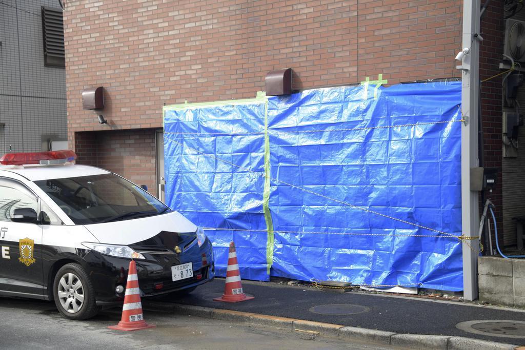 山口組系事務所に車衝突、松葉会系組員逮捕 警視庁