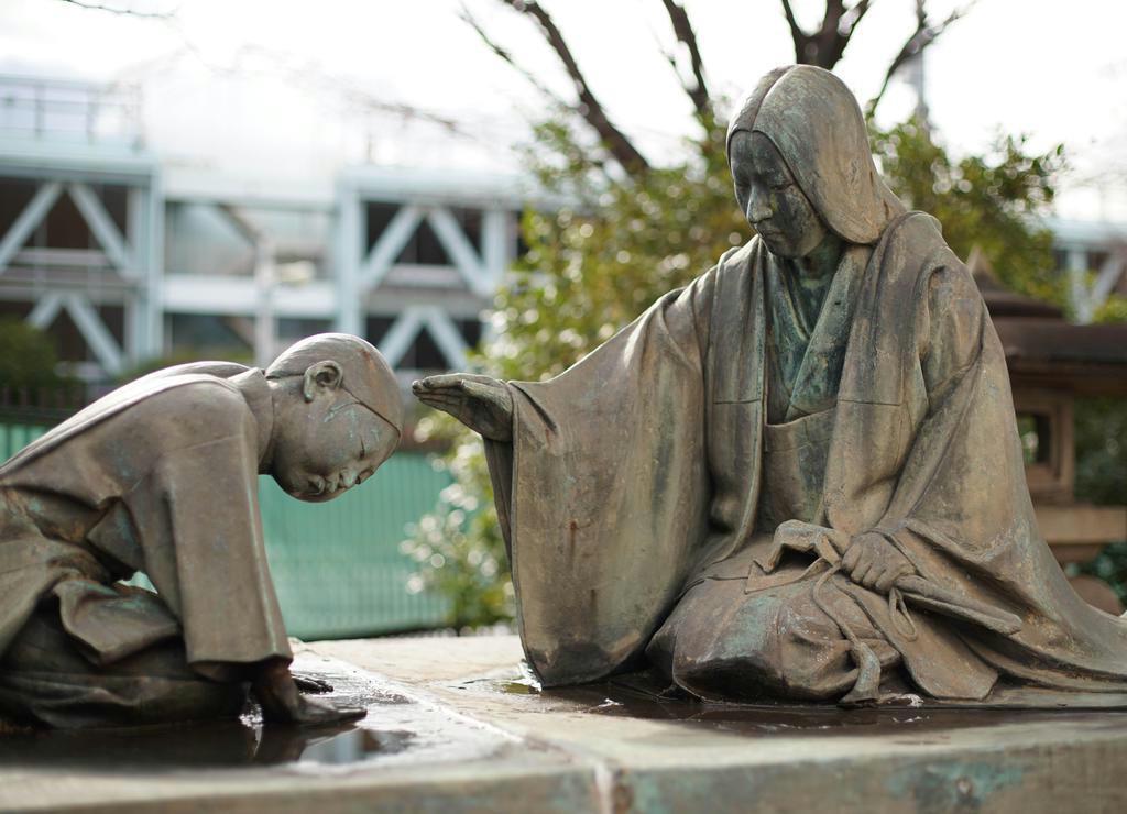 【日本人の心 楠木正成を読み解く】第4章 現代に生き続ける「楠公さん」11 母子像移設…