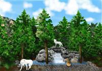 ホッキョクオオカミを国内で初めて飼育、展示 3月オープン 那須どうぶつ王国